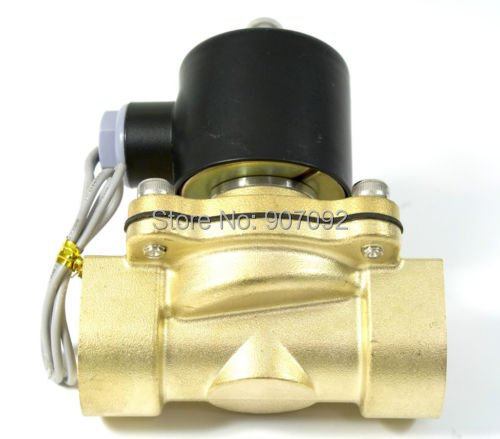 ФОТО Free Shipping Brass Water Solenoid Valves 1