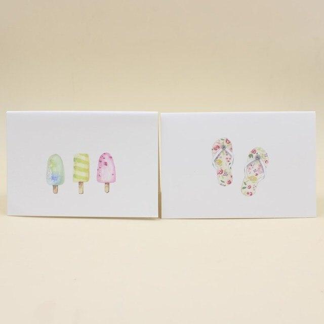16 pieceslotleiso brand simple design creative greeting card diy 16 pieceslotleiso brand simple design creative greeting card diy folding blessing m4hsunfo
