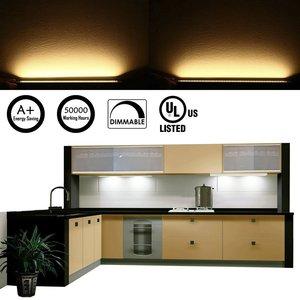 Image 5 - خزانة بار عدة جامدة LED مصباح بار مع باهتة كابينة تبديل بار أثاث مضيء إضاءة خزانة المطبخ بار (8 لوحات)