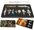 Classic Video Game Final Fantasy Series Pendant Set PS4 FF15 VII Remake Souvenir Brave Exvius Cloud Cosplay Item Free shipping