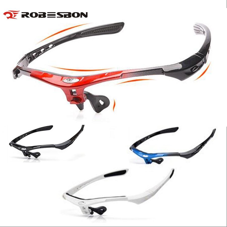 ROBESBON Cycling Sunglasses Frame/Lens Men DIY UV400 Polarized Bicycle Eyewear Outdoor Sports MTB Bike Glasses Gafas Ciclismo