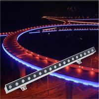 Outdoor LED Wall Washer Light IP65 Flood Light Foco LED Exterior 6W 9W 12W 15W 18W 24W 30W 36W 48W 72W 108W Projecteur Exterieur