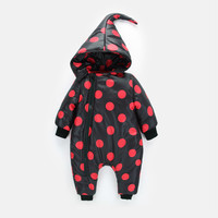 Newborn Baby Girl Clothes Cartoon Baby Boy Rompers Winter Zipper Cotton Baby Snowsuit Thick Warm Toddler Jumpsuits