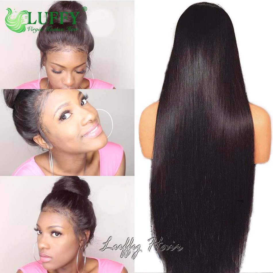 250 density lace front wig