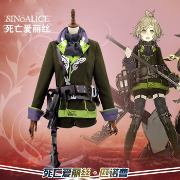 SINoALICE Pinocchio Uniforms Cosplay Costume Free Shipping