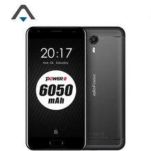 Original Ulefone Power2 4G FDD LTE Mobile Phone 5.5 Inch 1080P Octa Core 4GB RAM 64GB ROM 13.0MP 6050mAh Fingerprint cell phone