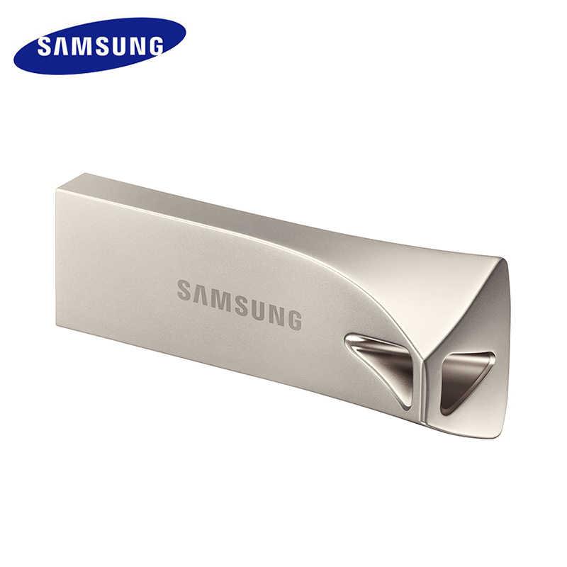 USB флеш-накопитель SAMSUNG USB3.0 USB3.1 32G 64G 128G 256G Металлический Мини-накопитель Флешка карта памяти устройство для хранения U диск