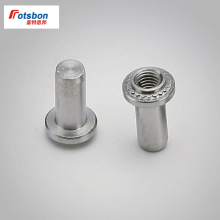 цена 1000pcs B-032-1/B-032-2 Self-clinching Blind Fasteners Zinc Plated Carbon Steel Nature Blind Nuts PEM Standard Wholesales онлайн в 2017 году