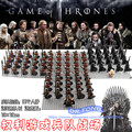 21PCS/LOT Game of Thrones Eddard Stark Spear Sword Infantry Jory Cassel Ice and Fire Unsullied Infantry Building Blocks Toys