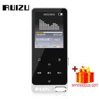 Ruizu Sport Audio Mini Mp3-speler Muziek Audio Mp 3 Mp-3 Met Radio Digitale Hifi Hi-Fi Screen Fm Flac Usb 8 Gb Touch Lcd Walkman