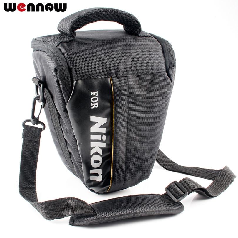 Wennew DSLR Cámara bolsa para Nikon P1000 D5600 D5500 D5300 D7500 D7200 D810 D850 D3500 D3400 D750 D90 D80 d3200 D3300 P900S