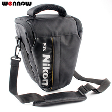 Wennew DSLR Camera Bag Case For Nikon P1000 D5600 D5500 D5300 D7500 D7200 D810 D850 D3500 D3400 D750 D90 D80 D3200 D3300 P900S