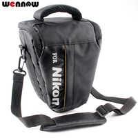 Wennew DSLR Sac Photo Pour Nikon P1000 D5600 D5500 D5300 D7500 D7200 D810 D850 D3500 D3400 D750 D90 D80 D3200 D3300 P900S