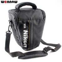 Wennew DSLR caméra sac étui pour Nikon P1000 D5600 D5500 D5300 D7500 D7200 D810 D850 D3500 D3400 D750 D90 D80 D3200 D3300 P900S