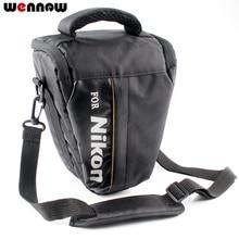 Wennew torba na aparat DSLR Case dla Nikon P1000 D5600 D5500 D5300 D7500 D7200 D810 D850 D3500 D3400 D750 D90 D80 D3200 D3300 P900S