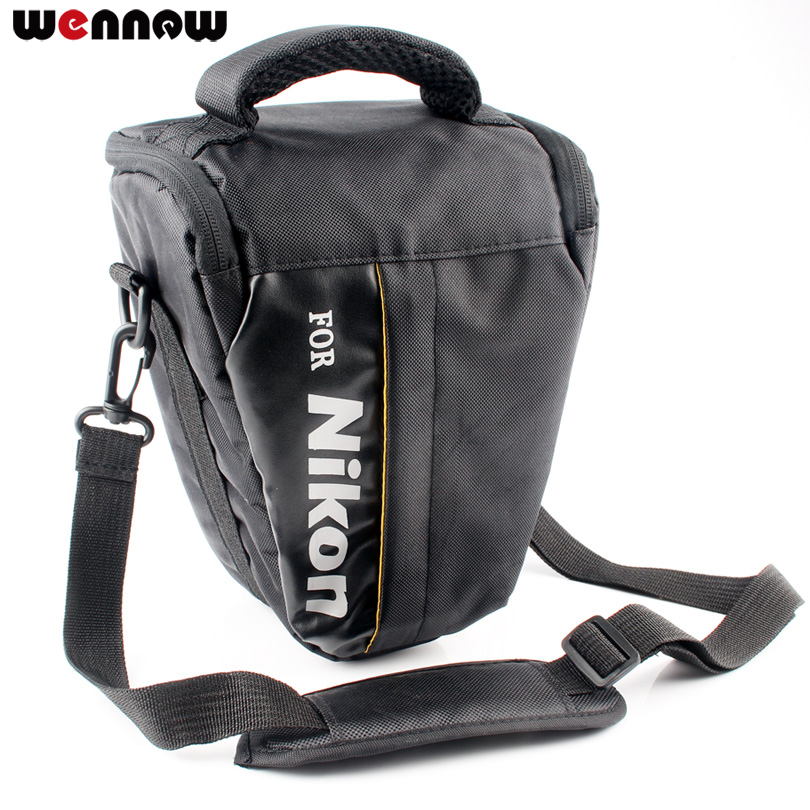 wennew DSLR Camera Bag Case For Nikon P1000 D5600 D5500 D5300 D7500 D7200 D810 D850 D3500 D3400 D750 D90 D80 D3200 D3300 P900S