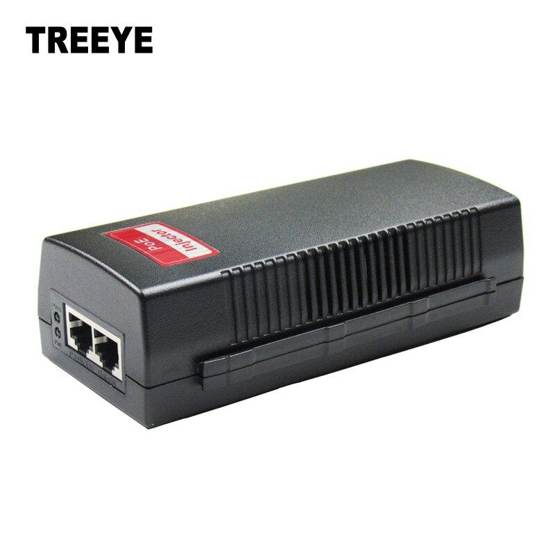 bilder für 10/100 Mbps Poe-injektor Power Adapter, Konform zu Ieee 802.3af, Power 4/5 (+), 7/8 (-), AC100-240V, DC48V 0.4A ausgang 801FM