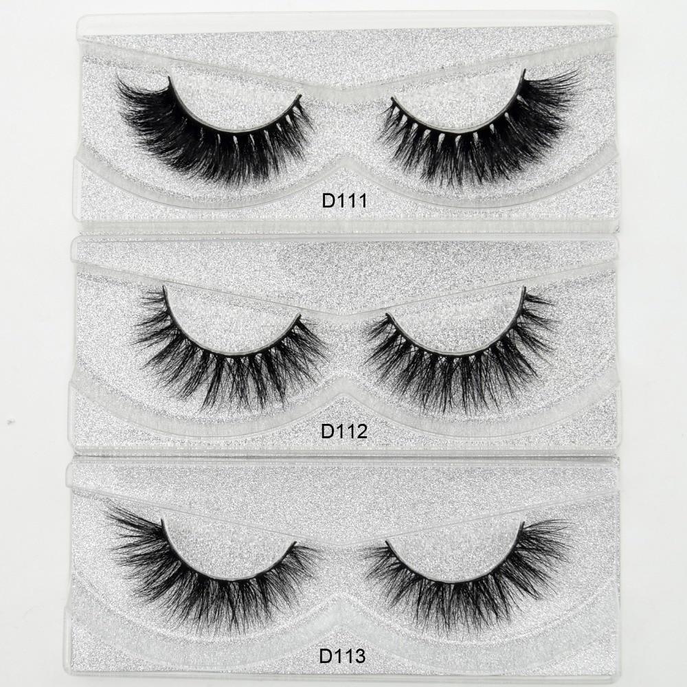 Visofree Mink Eyelashes 3D Mink Lashes Thick HandMade Full Strip Lashes Cruelty Free Korean Mink Lashes 27 Style False Eyelashes цена