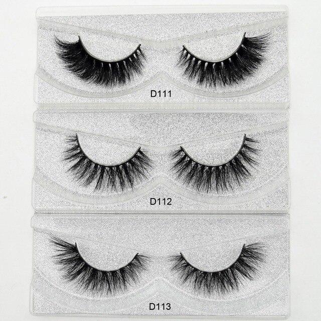 Aliexpress Buy Visofree Mink Eyelashes 3d Mink Lashes Thick