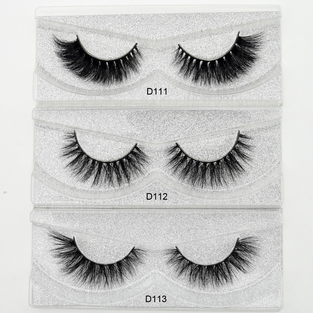 Visofree Mink Eyelashes 3D Mink Lashes Thick HandMade Full Strip Lashes Cruelty Free Korean Mink Lashes 27 Style False Eyelashes