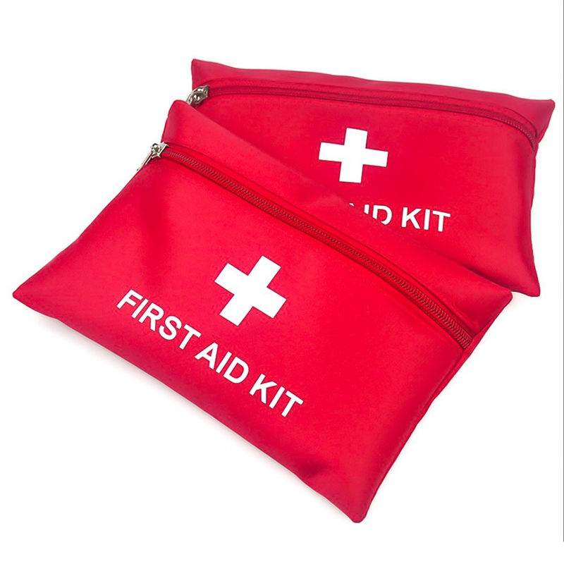 Mini Portable Outdoor First Aid Kit Waterproof EVA Bag For Emergency Treatment In Travel Hiking Camping 1680D Nylon 20CM*14CM