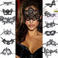 Sexy Women Black Lace Eye Face Mask Masquerade Party Ball Prom Halloween Costume Party Masks