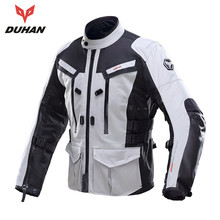 DUHAN Professional Men Waterproof Motorcycle Jackets Moto Jacket Motocycle Body Guard Motorcycle Clothing 201A