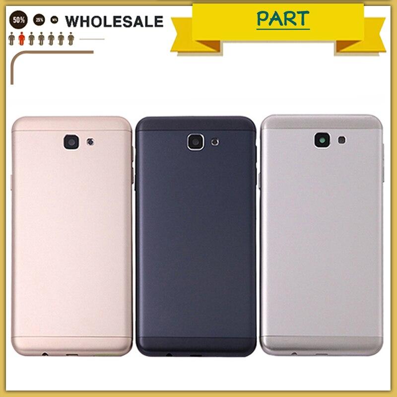 Nouveau Pour Samsung Galaxy J7 Premier G610F G610 Batterie Retour Couverture De Porte De batterie Boîtier métallique Pour J5 Premier G570F G570 on5 2016 Cas