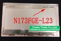 For ChiMei N173FGE L23 Rev C1 N173FGE L23 Glossy Laptop LCD Screen 17 3 LED Display
