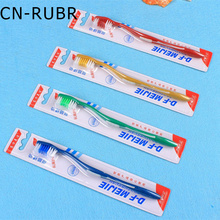 CN-RUBR 5pcs/set  Fashion Women Makeup Toothbrushes Double Ultra Soft Toothbrushes Bamboo Charcoal Nano Brush Cosmetic Brushes