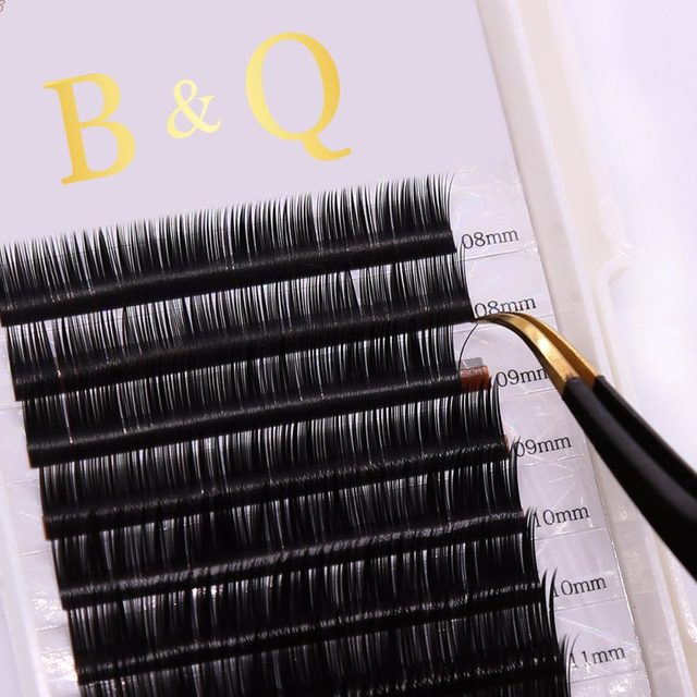 Online Shop 12 Rows Tray Individual Eyelash Permanent False