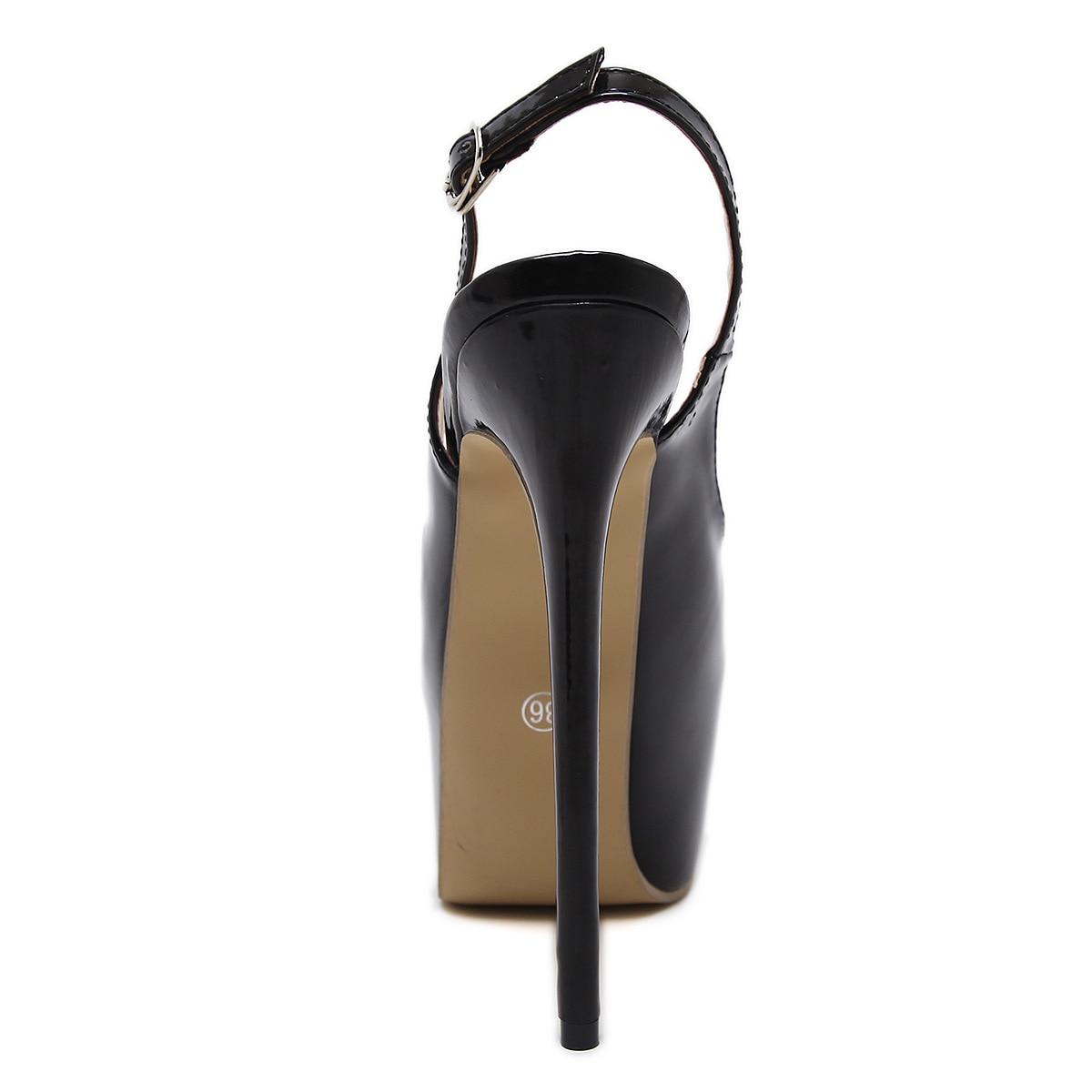 Peep Da Partito Signore Slip Sposa Scarpe Toe Sandali Delle Pumps Alti Cm Sexy on Donne Tacchi Pompe Piattaforma Estate 16 Del Black 6PqXTZ