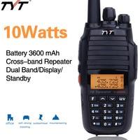 Upgrade Version TYT TH UV8000D 10Watts Cross Band Reapter Long Range Walkie Talkie 3600mAh Battery Dual Band handheld Radio