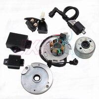 高性能レーシング磁気ステータロータキットダートバイクlf lifan 150cc cdi使用用オートバイアクセサリー -