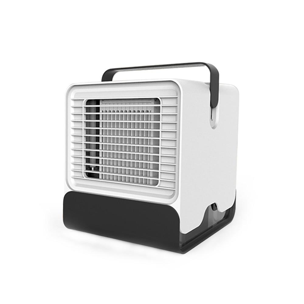 1 Pc Air Conditioner Persönliche Desktop Büro Usb Mini Cooler Fan 2019 Neueste Mode Geschenk Mobile Fan Tragbare Kostenloser Versand