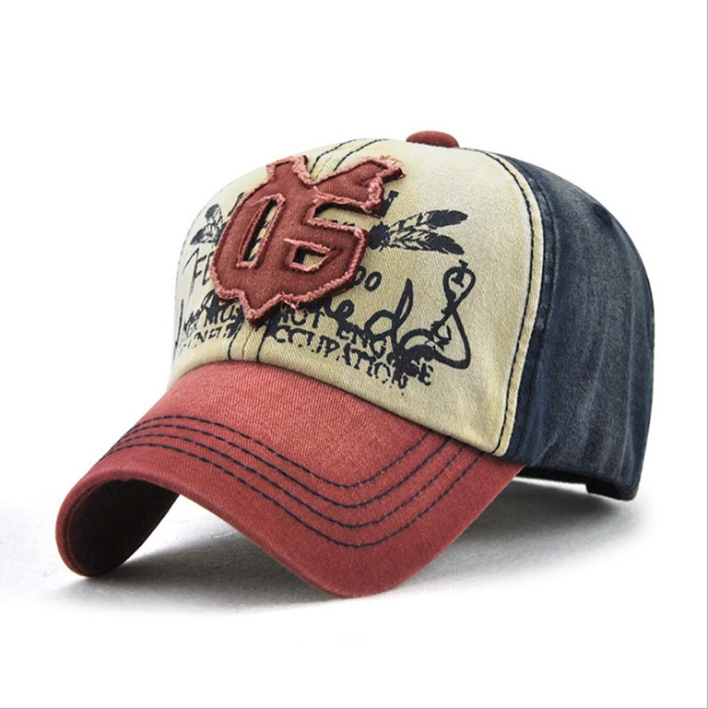 2019 New Summer Elegant Hat For Women Men Embroidered Flower Denim Cap Fashion Baseball Cap Topeeunisex Cotton Colorful Z425