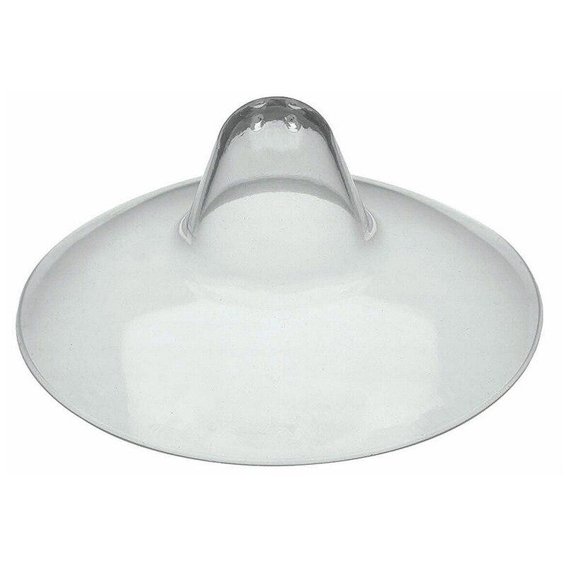 2Pcs/pack Shell Ultra-thin Silicone Nipple Breast Shield Maternity Silica Gel Nipple Protector Baby Breast Milk Feeding