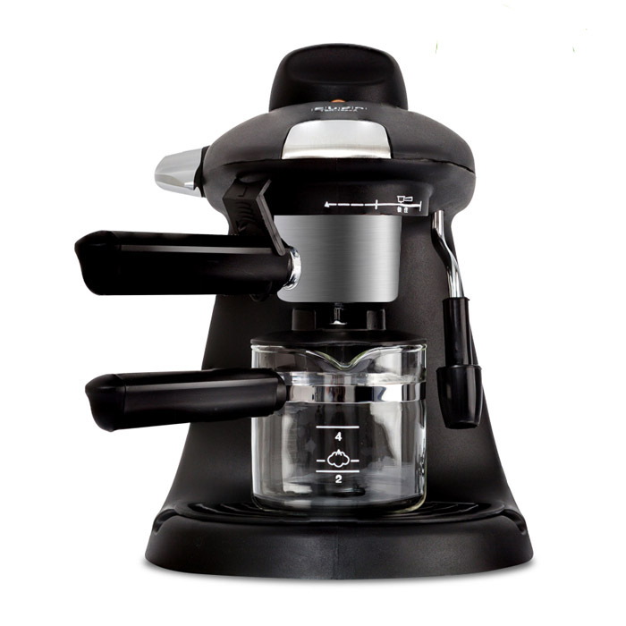 Household Italian Coffee Machine  Semi-Automatic Steam Type High Pressure  Coffee Maker with Stainless Steel  Boiler pump pressure type coffee machine is used for the commercial italian semi automatic steam