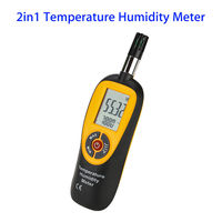 SEESII HT 96 2in1 Digital Temperature And Humidity Meter Tester Instrument Gauge Monitor Air Measure Portable