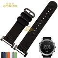 Nylon watchband watch Straps Smart bracelet sport Wristwatches for SUUNTO CORE watch band belt 22mm Steel clasp