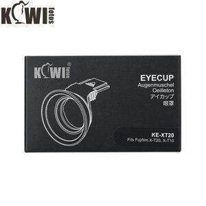 Image 5 - Soft Silicon Camera Eyecup Eyepiece Viewfinder Via Hot Shoe Eye Cup For Fujifilm X T20 X T10 X T30 Fuji XT20 XT10 XT30 Eyeshade