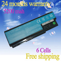 JIGU Free shipping 6 cells Laptop Battery For ACER Aspire 5520 5530 5530G 5920G 5930 5930G AS07B31 AS07B32 AS07B41