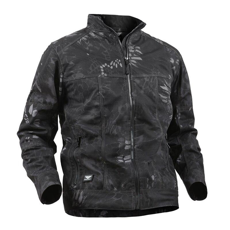 RAY GRACE hommes veste tactique armée militaire coquille souple veste hommes imperméable coupe-vent Camouflage veste Combat chasse manteau
