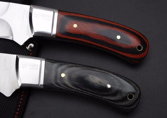 Buy 2 Options! Elaborate K91 Camping Survival Fixed Knives,5Cr13Mov Blade Color Wood Handle Small Hunting Knife. cheap