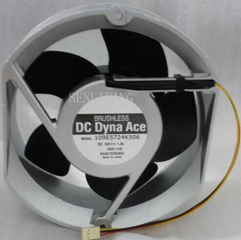 Free Shipping Original 109E5724C5D01 Fan DC24V 2.3A 17cm Inverter Fan