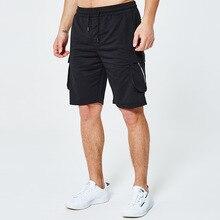 MJARTORIA 2019 Male Plus Size Shorts Men Summer Outdoors Casual Loose Multi-Pocket Overalls Sport Mens Pantalones Cortos Hombre