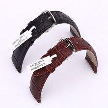 Noir Brun De Luxe Crocodile Véritable Bracelet En Cuir Montre bande Pour Apple Watch iWatch Sport Édition 38 MM 42 MM