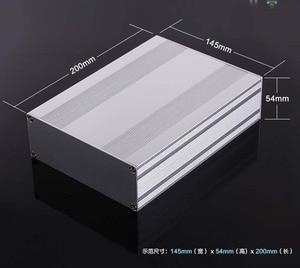 Image 1 - מארז אלומיניום פרויקט תיבת פיצול סוג מארז PCB 145x54x200mm DIY מגבר הפצת תיבה