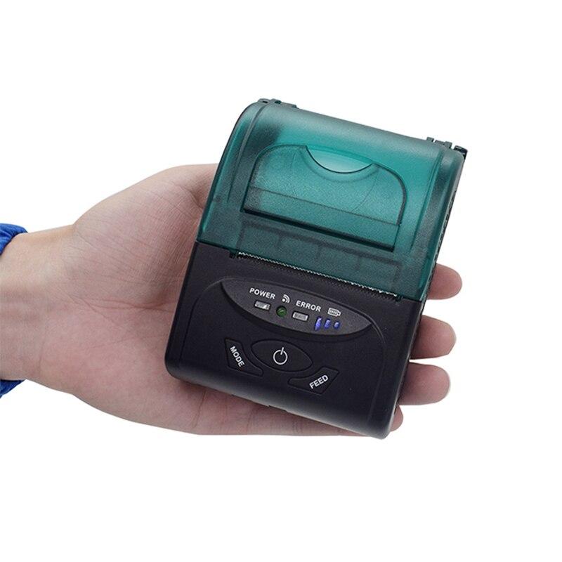 Xeumior 58mm Mini Drahtlose Bluetooth Portable Thermobondrucker Für IOS/Android Mobilen Drucker für Restaurant Supermarkt