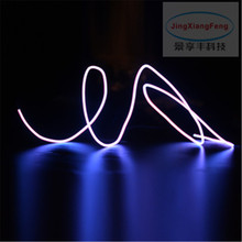 2M AUTO interior refit atmosphere light Car stlying EL cold light LED decorative light Car Decoration Free shipping